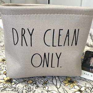 "RAE DUNN ""DRY CLEAN ONLY."" BASKET"